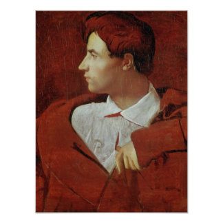 Porträtt av Jean-Baptiste Desdeban c.1810 Poster