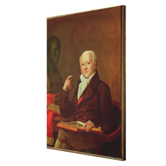 Porträtt av Jean Nicolas Corvisart des Marets Canvastryck