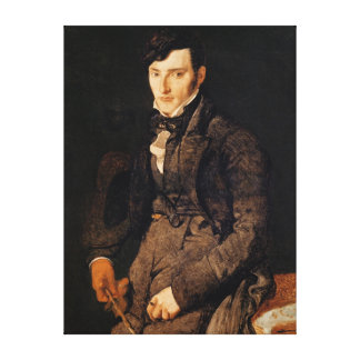 Porträtt av Jean-Pierre-Francois Gilibert Canvastryck