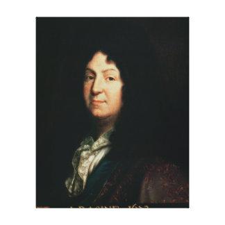 Porträtt av Jean Racine kopierar av ett original Canvastryck