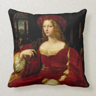 Porträtt av Jeanne av den Aragon (c.1500-77) frun Kudde