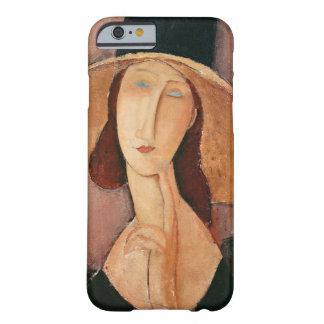 Porträtt av Jeanne Hebuterne i en stor hatt Barely There iPhone 6 Skal