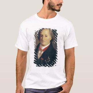 Porträtt av Johann Wolfgang Von Goethe Tee Shirts