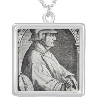 Porträtt av Johannes Stoffler Silverpläterat Halsband