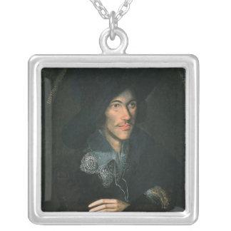 Porträtt av John Donne, c.1595 Silverpläterat Halsband