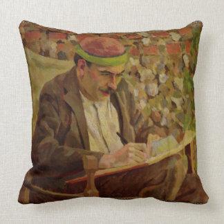 Porträtt av John Maynard Keynes (1883-1946) (den Kudde