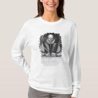 Porträtt av John Stowes från hans monument T-shirt