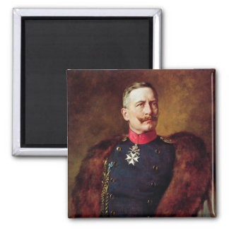 Porträtt av Kaiser Wilhelm Ii Magnet