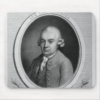 Porträtt av Karl Philipp Emmanuel Bach Musmatta