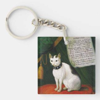 Porträtt av katten Armellino