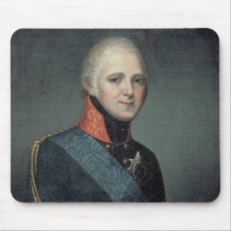 Porträtt av kejsaren Alexander mig, 1804 Musmatta
