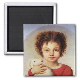 Porträtt av konstnärens dotter, Lina Magnet