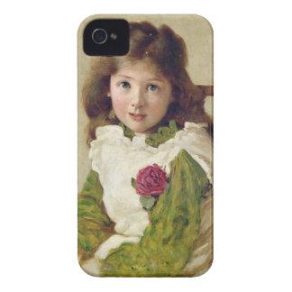 Porträtt av konstnärens dotter (olja på kanfas) Case-Mate iPhone 4 skydd