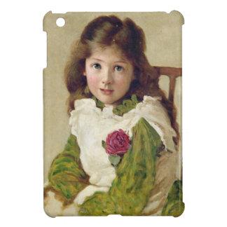 Porträtt av konstnärens dotter (olja på kanfas) iPad mini mobil skydd