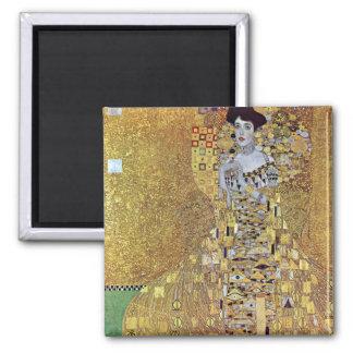 Porträtt av Kvarter-Bauer 2 av Gustav Klimt Magnet