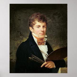 Porträtt av Lancelot Theodore Turpin de Crisse Poster