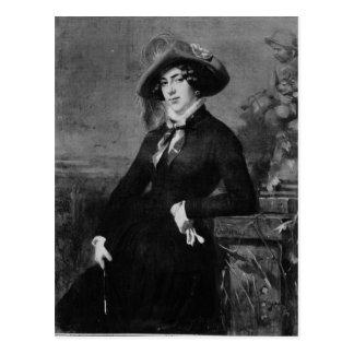 Porträtt av Lola Montez, 1844 Vykort