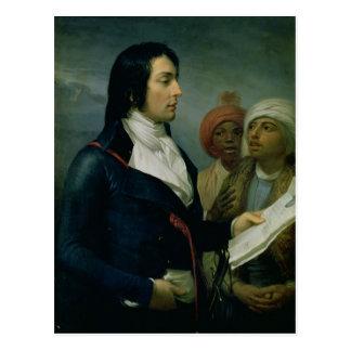 Porträtt av Louis-Charles-Antoine Desaix Vykort