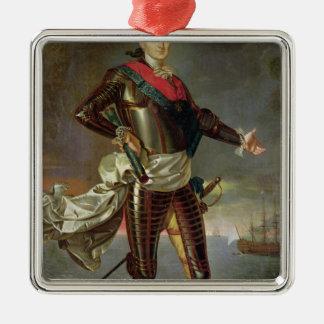 Porträtt av Louis-Jean-Marie de Bourbon Julgransprydnad Metall