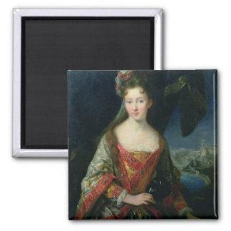 Porträtt av Louise-Hippolyte (1687-1731), Princess Magnet