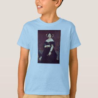 Porträtt av madamen Moitessier av Ingres Jean Tee Shirts