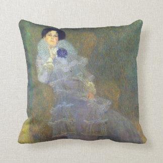 Porträtt av Marie Henneberg vid Klimt Kudde