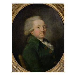Porträtt av Marie-Jean-Antoine-Nicolas Vykort