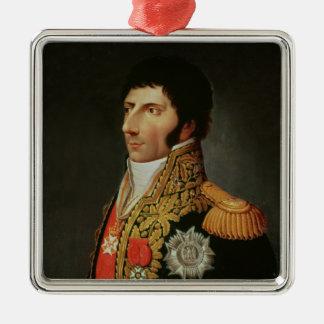 Porträtt av marskalken Charles Jean Bernadotte Julgransprydnad Metall