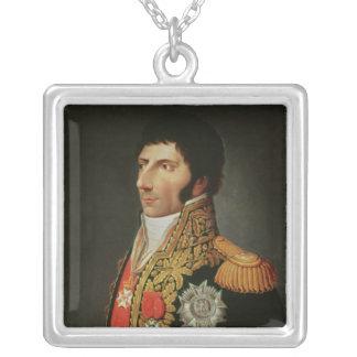 Porträtt av marskalken Charles Jean Bernadotte Silverpläterat Halsband