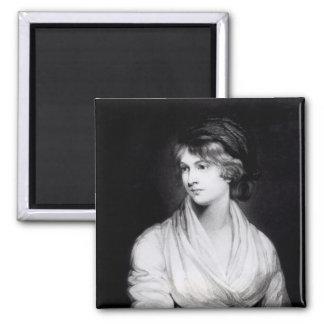 Porträtt av Mary Wollstonecraft Godwin Magnet