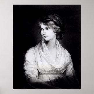 Porträtt av Mary Wollstonecraft Godwin Poster