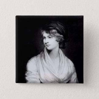 Porträtt av Mary Wollstonecraft Godwin Standard Kanpp Fyrkantig 5.1 Cm