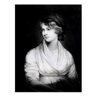 Porträtt av Mary Wollstonecraft Godwin Vykort