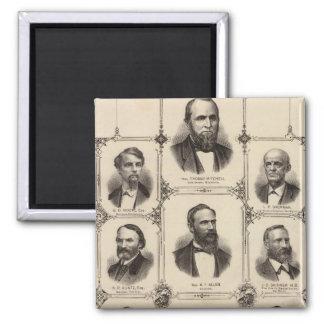 Porträtt av medborgare av Polk County Magnet