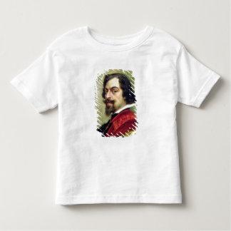 Porträtt av Mounet-Befläcker Tee Shirts
