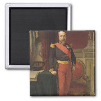 Porträtt av Napoleon III 1862 Magnet