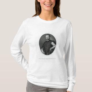 Porträtt av Niccolo Machiavelli T-shirt