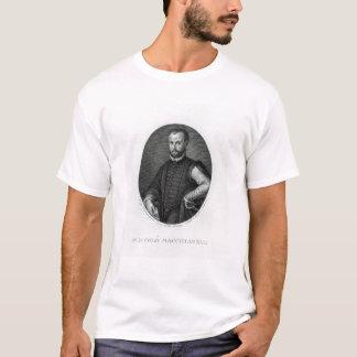 Porträtt av Niccolo Machiavelli Tee Shirt