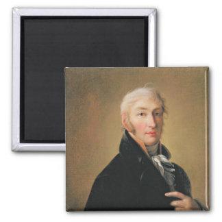 Porträtt av Nikolay Mikhaylovich Karamzin, 1805 Magnet