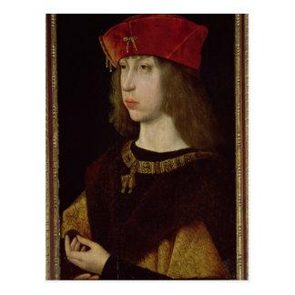 Porträtt av Philip det stiligt Vykort