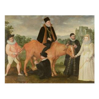 Porträtt av Philip II, hertigen av Alencon Vykort