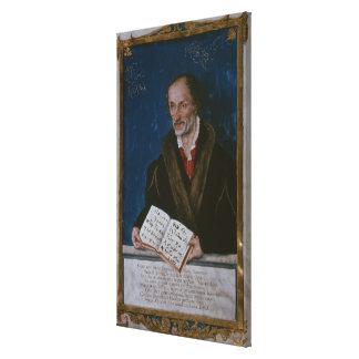 Porträtt av Philipp Melanchthon Canvastryck