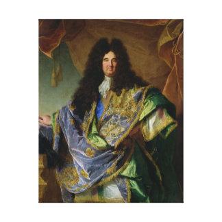 Porträtt av Philippe de Courcillon Markis Canvastryck