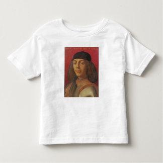 Porträtt av Piero di Lorenzo de Medici Tee Shirt