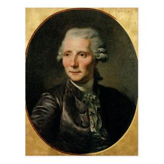 Porträtt av Pierre Augustin Caron de Vykort