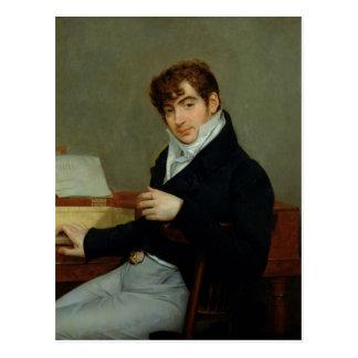 Porträtt av Pierre Zimmermann 1808 Vykort