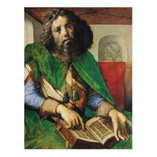 Porträtt av Plato c.1475 Vykort