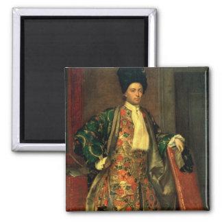Porträtt av räkningen Giovanni Battista Vailetti Magnet