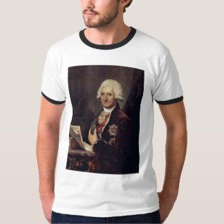 Porträtt av räkningen Johann Jakob Sievers vid T-shirt