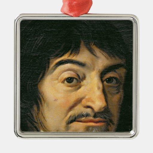 Porträtt av Rene Descartes c.1649 Jul Dekorationer